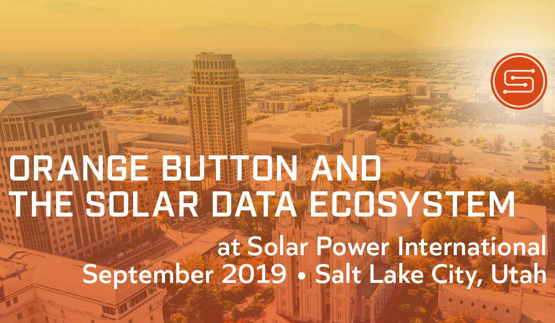 Orange Button and the Solar Data Ecosystem at SPI